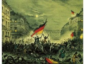 March revolution 1848 in Berlin