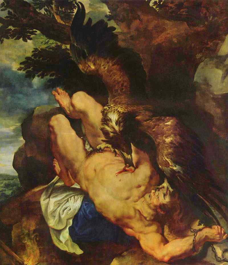 Peter Paul Rubens: Gefesselter Prometheus (1611-1612) / Peter Paul Rubens: Tied Prometheus (1611-1612)