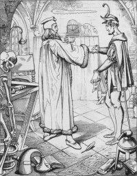 Faust I Studierzimmer 2 Der Teufelspakt Goethe Szenenanalyse 535