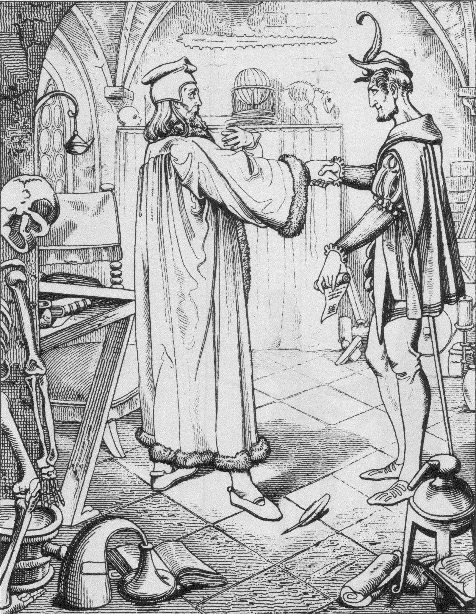 Faust I Studierzimmer 2 Der Teufelspakt Goethe