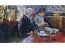 Edvard Munch: Couple At The Cafe