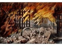 John R. Chapin, The Great Chicago Fire of 1871