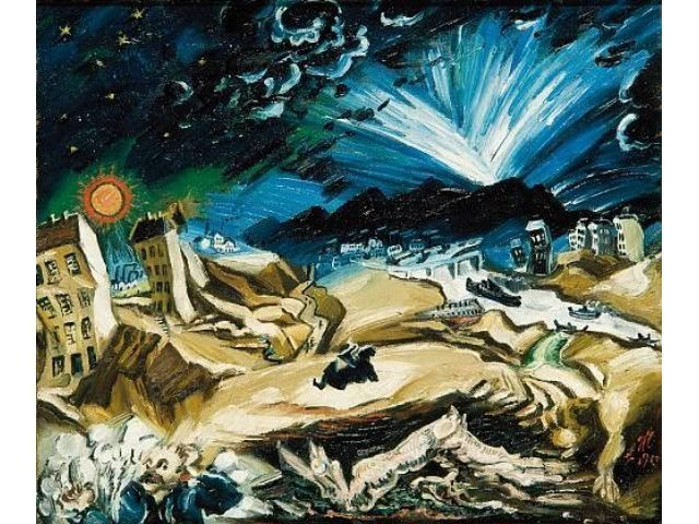 Weltende - Jakob van Hoddis (Interpretation #149