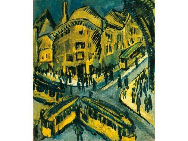 Städter Alfred Wolfenstein Interpretation 8 Expressionismus